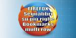 Firefox 70 Bookmarks multirow