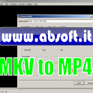Convertire mkv in mp4