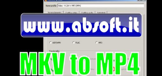 Convertire mkv in mp4